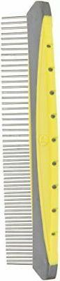 JW Pet Company 8-Inch Gripsoft Rotating Comfort Comb, Fine a