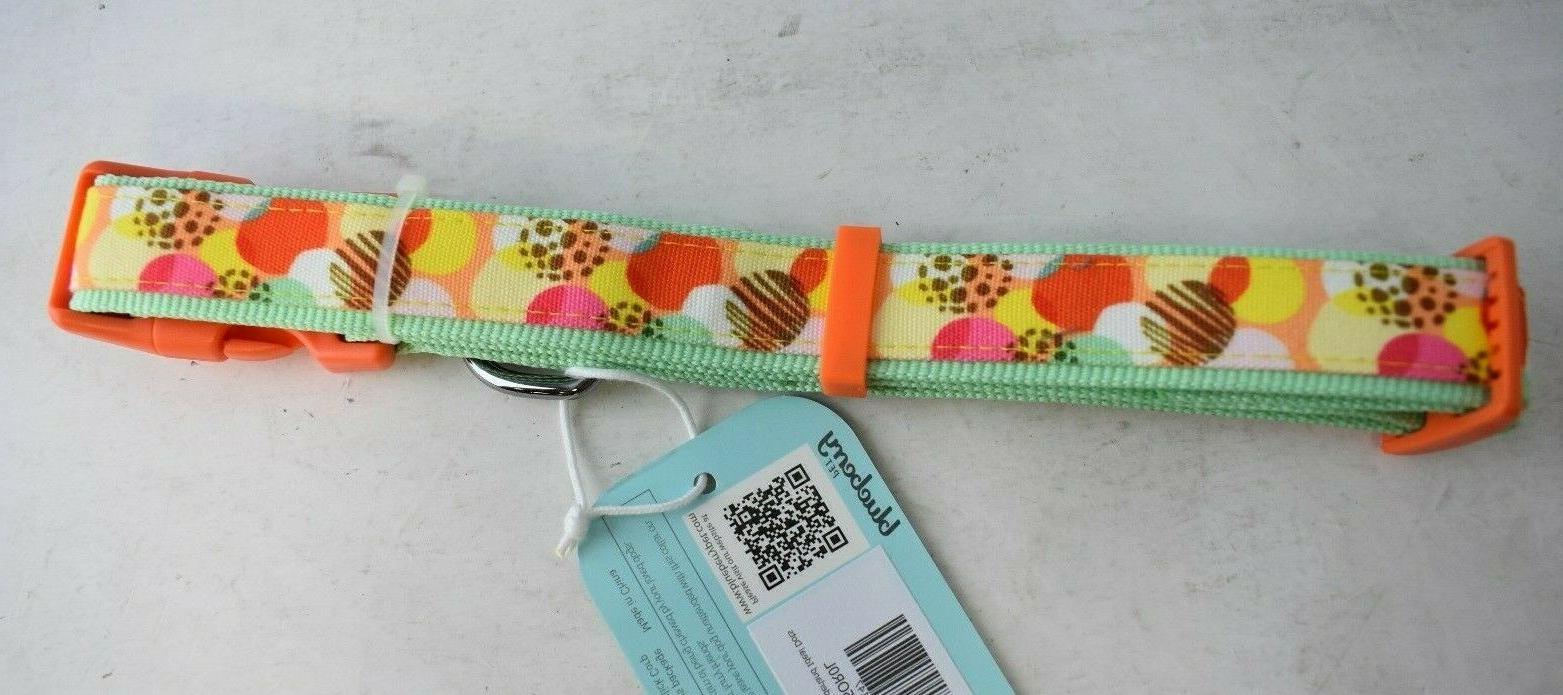 BLUEBERRY Wonderland Ideal Dots Dog Collar, 2-PK