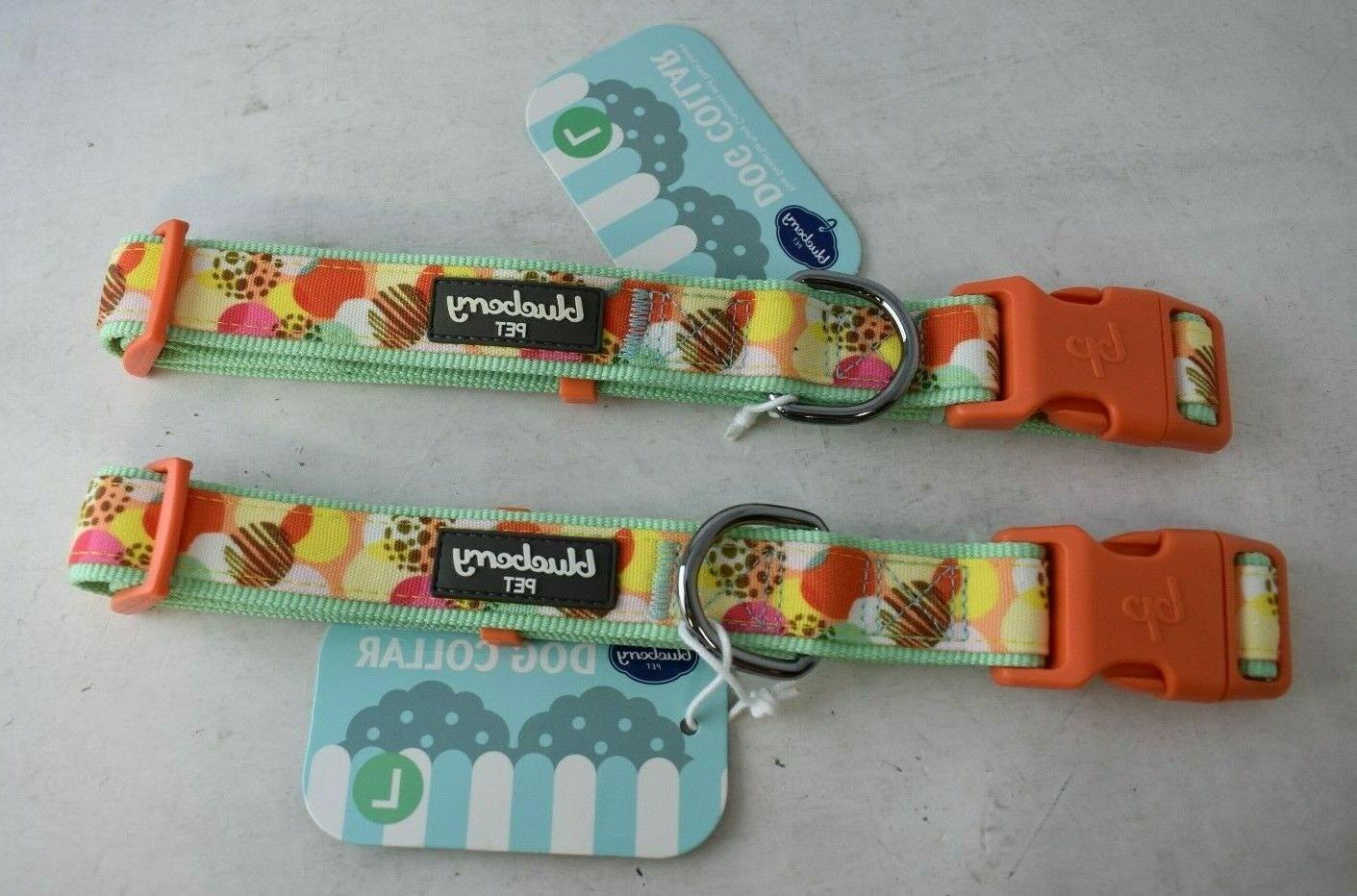 large blessed wonderland ideal dots dog collar