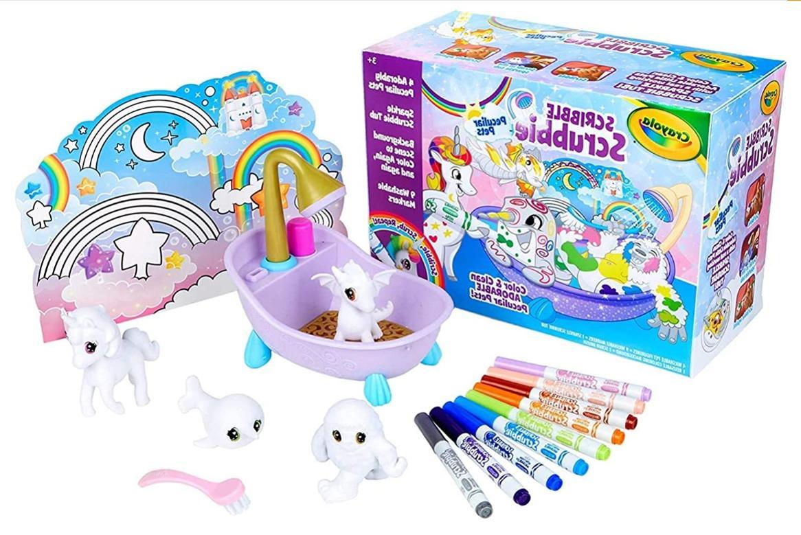 latest toys 2020 crayola scribble scrubbie peculiar