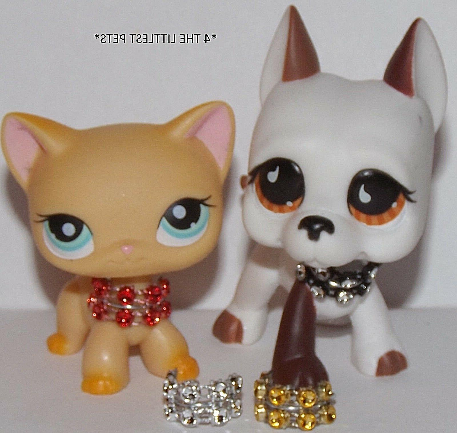 💞Littlest Pet Shop LPS accessories 4 custom collars NOT