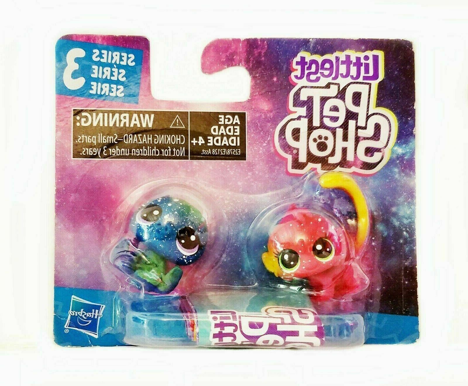 Littlest Pet Shop Figure Set Toys for Kids at Home 2 Pack Ne