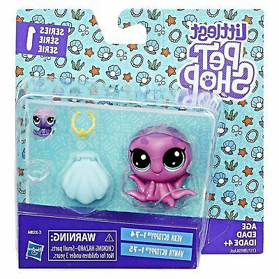 littlest pet shop vera octoppy 1 74