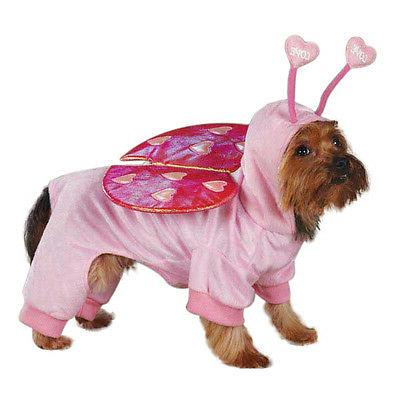 love bug dog pet halloween costume valentine