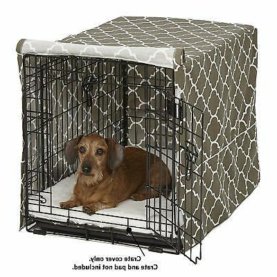 Mid-West Homes for Pets Dog Crate Brown