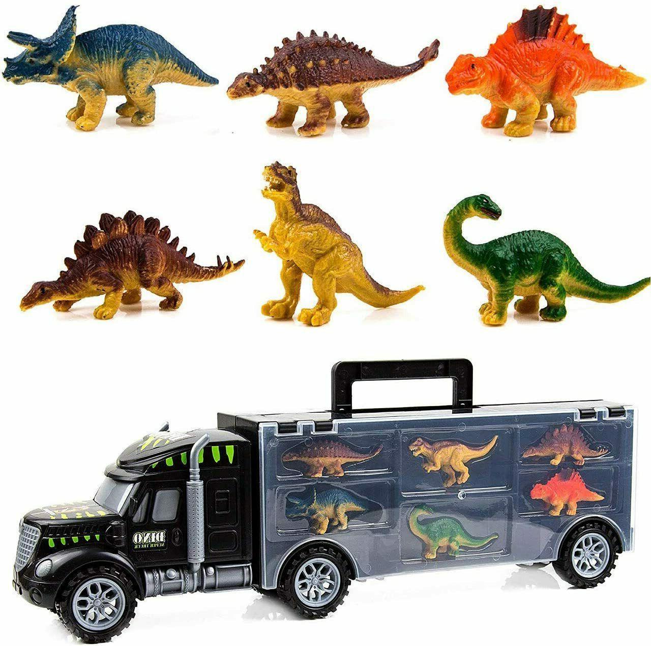 monster truck dinosaur toys toys transport carrier