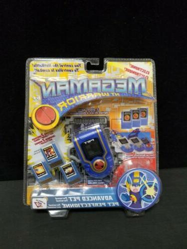 new megaman nt warrior advanced pet electronic