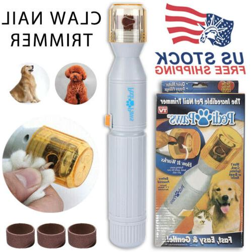 New Grooming Tool Care Clipper Pedi Paws Nail Grinder Trimme