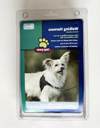 new walking harness for dogs small black