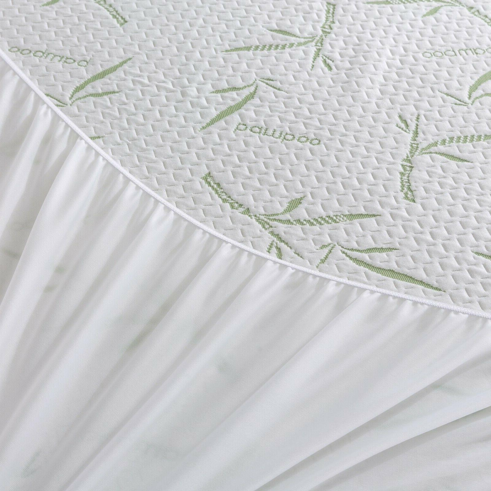 Waterproof Mattress Hypoallergenic Breathable Cover