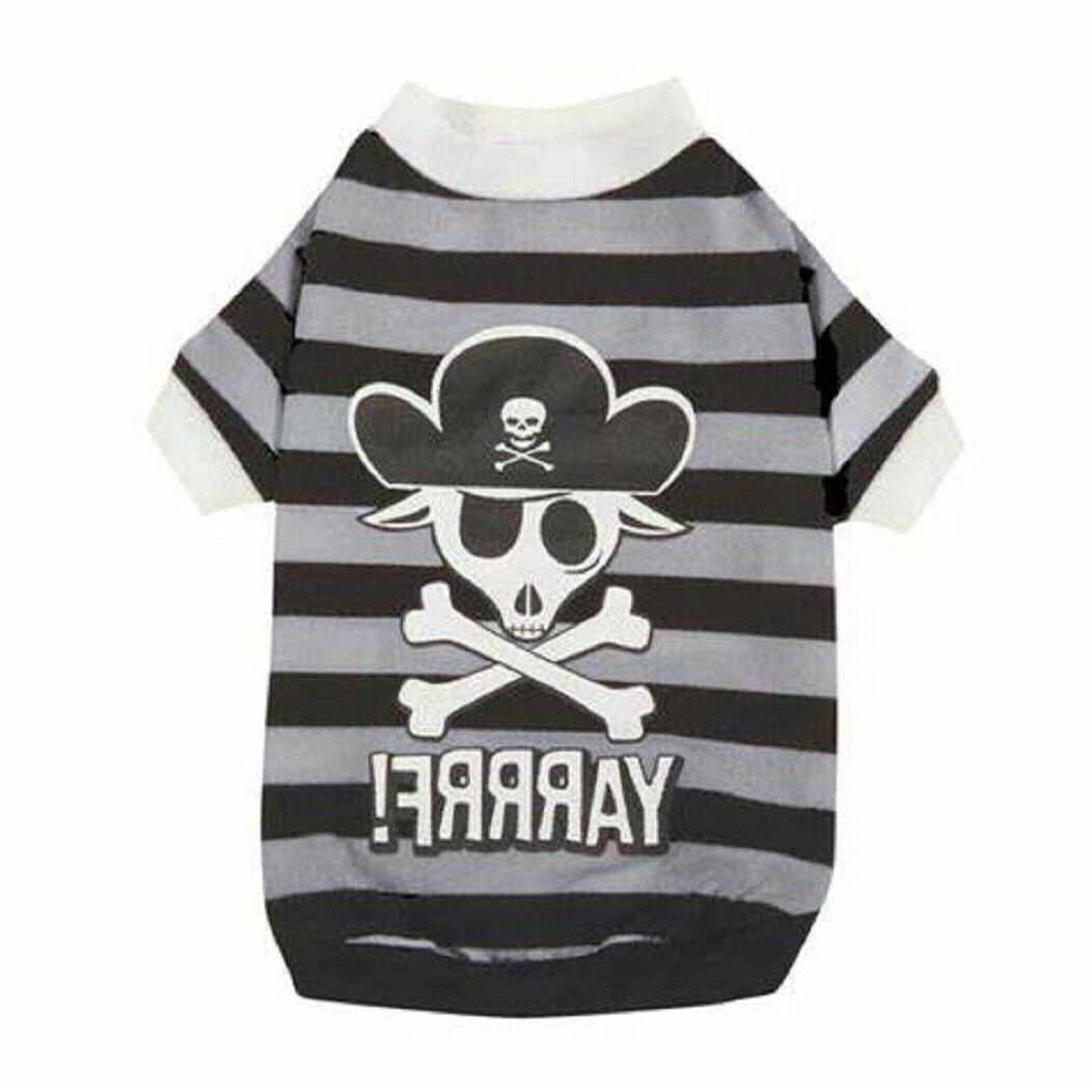 nwt dog puppy piratetee shirt xs 10