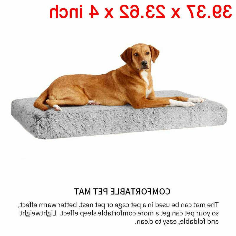 Orthopedic Dog Bed Lounger Crate Foam Soft Large