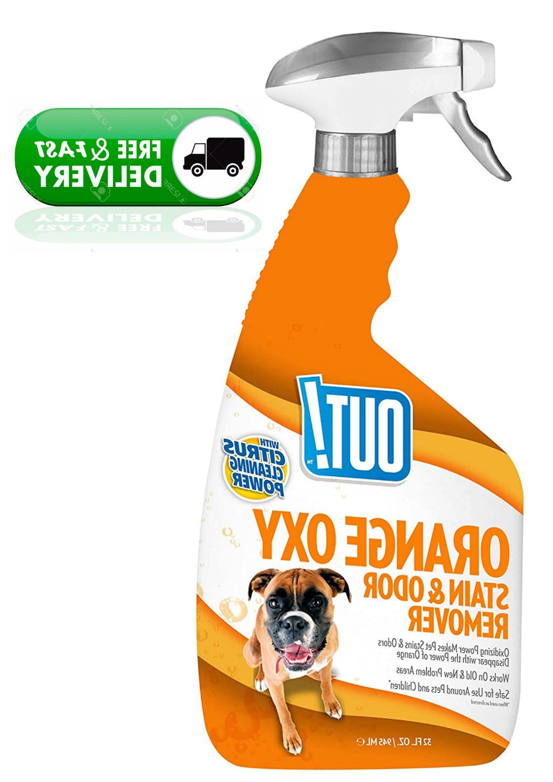 out orange oxy stain and odor remover