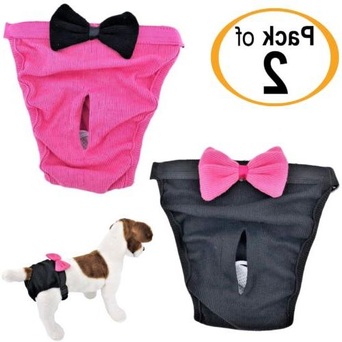 pack of 2 dog diapers female cat