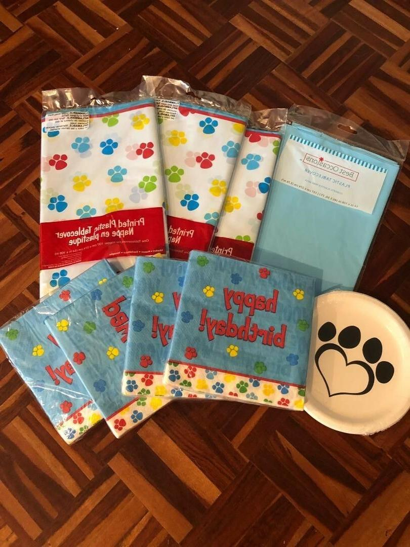 party decorations pets party or paw patrol