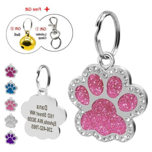 personalized dog tags engraved puppy pet id