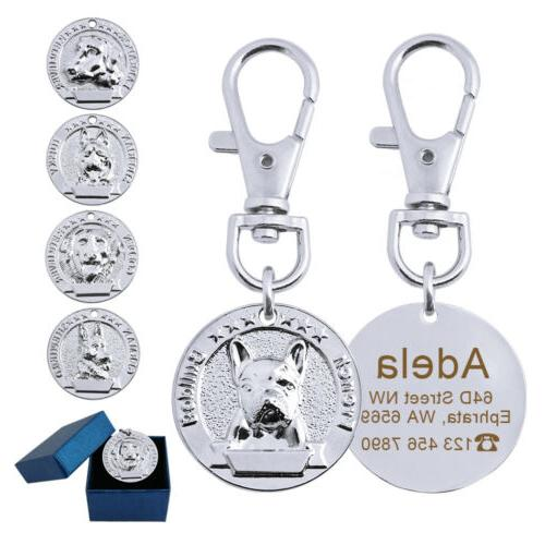 personalized pet tags dog cat id collar