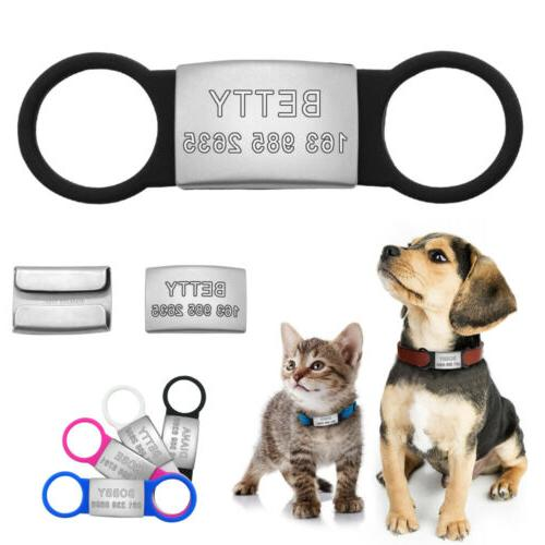 pet cat dog id tags personalized engraved