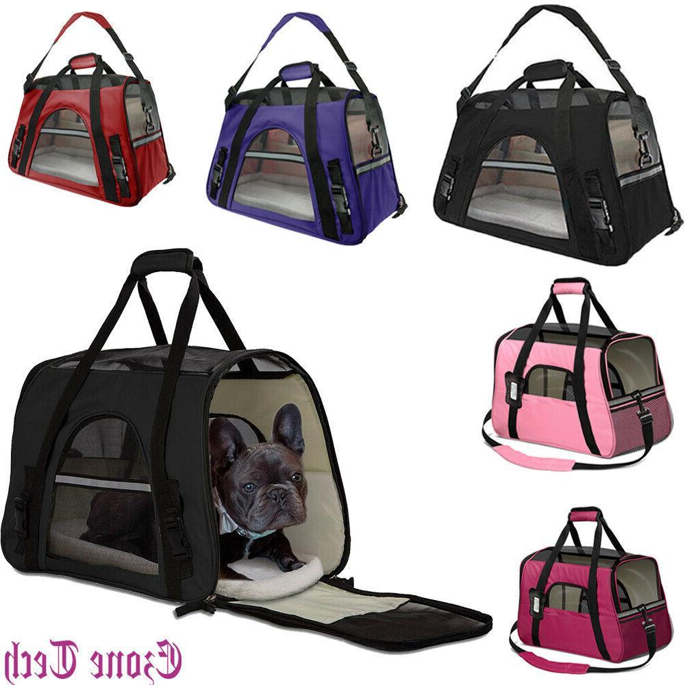 pet dog cat carrier travel bag comfort