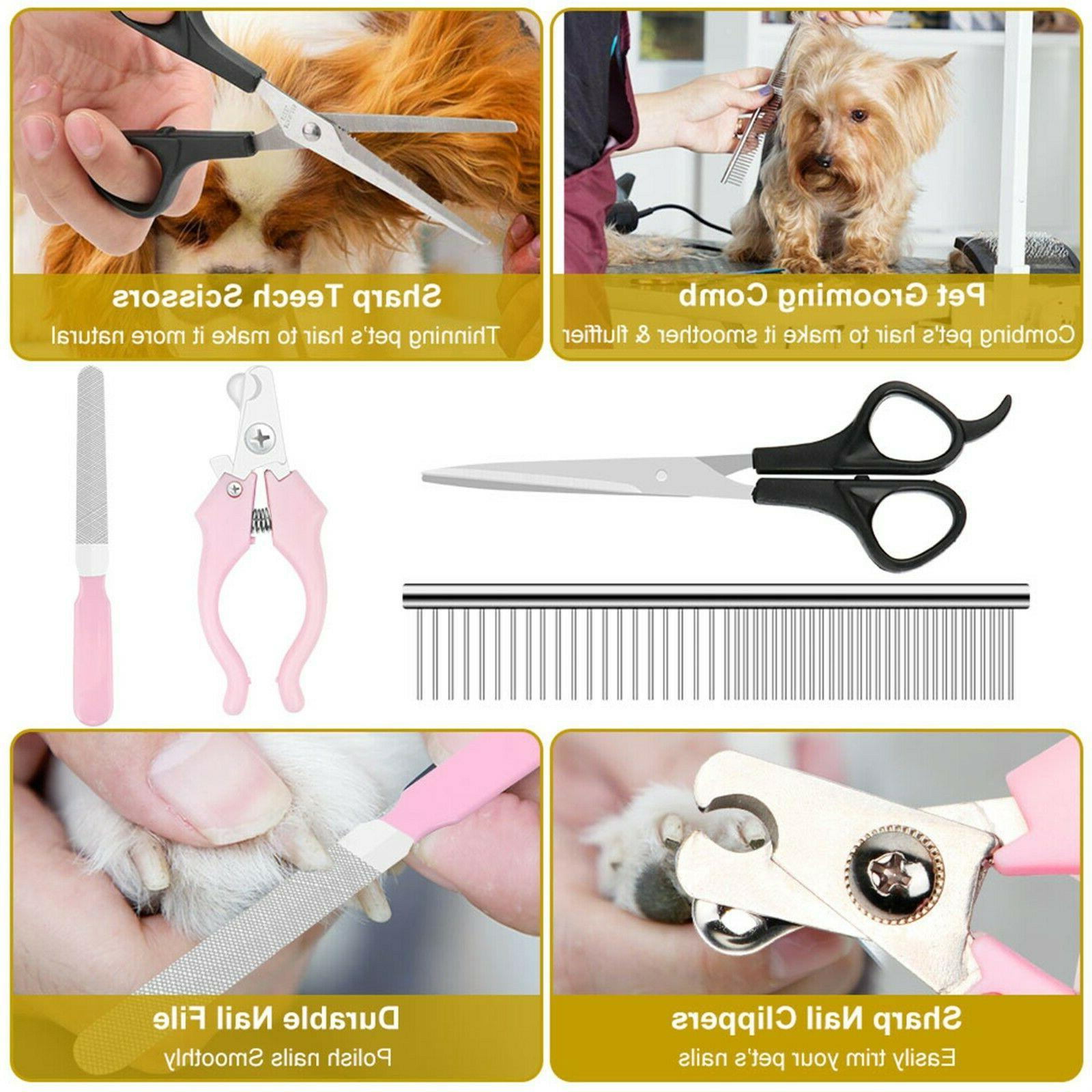 Pet Electric Trimmer Hair No Noise Shaver Grooming Kit