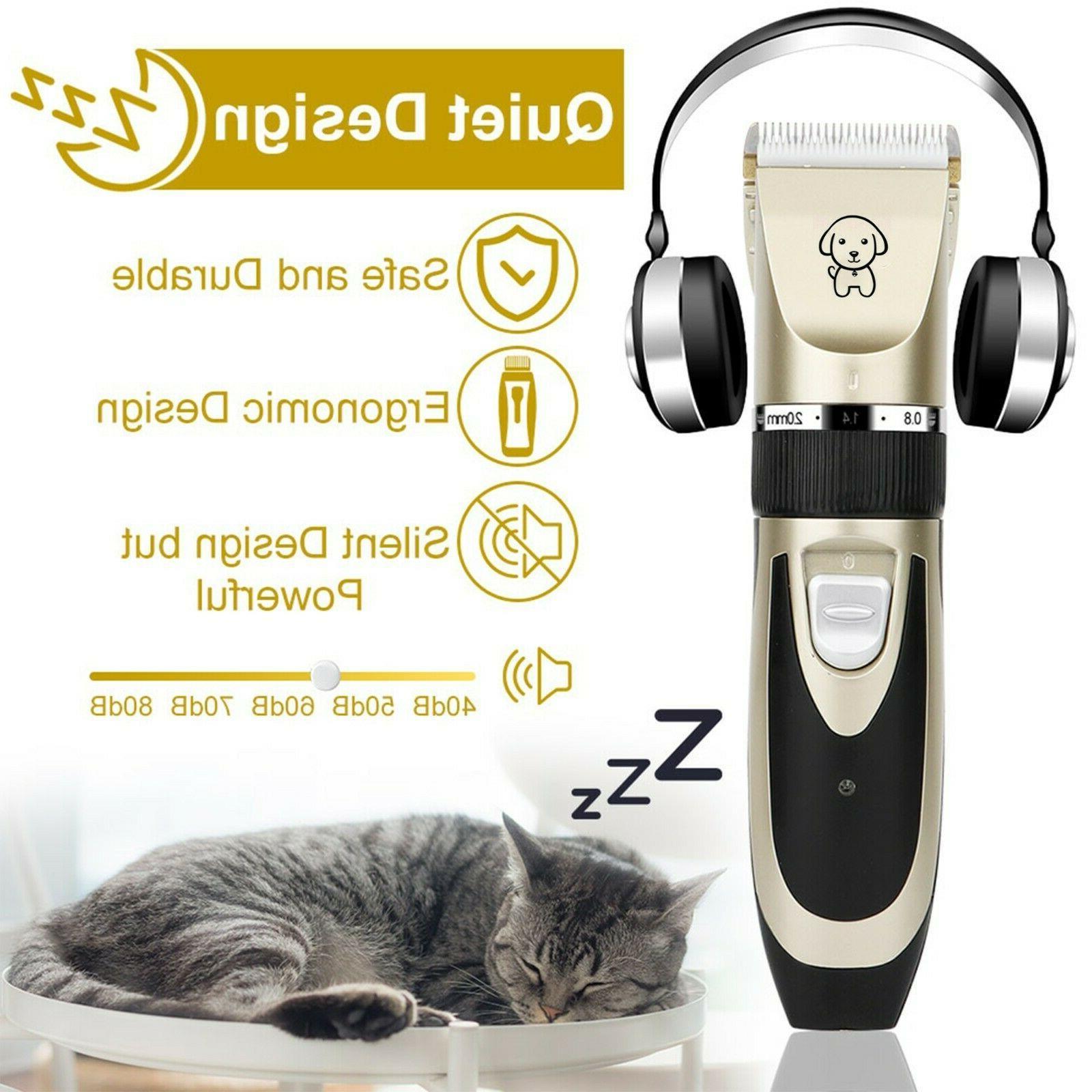 Pet Dog Electric Noise Scissor Kit
