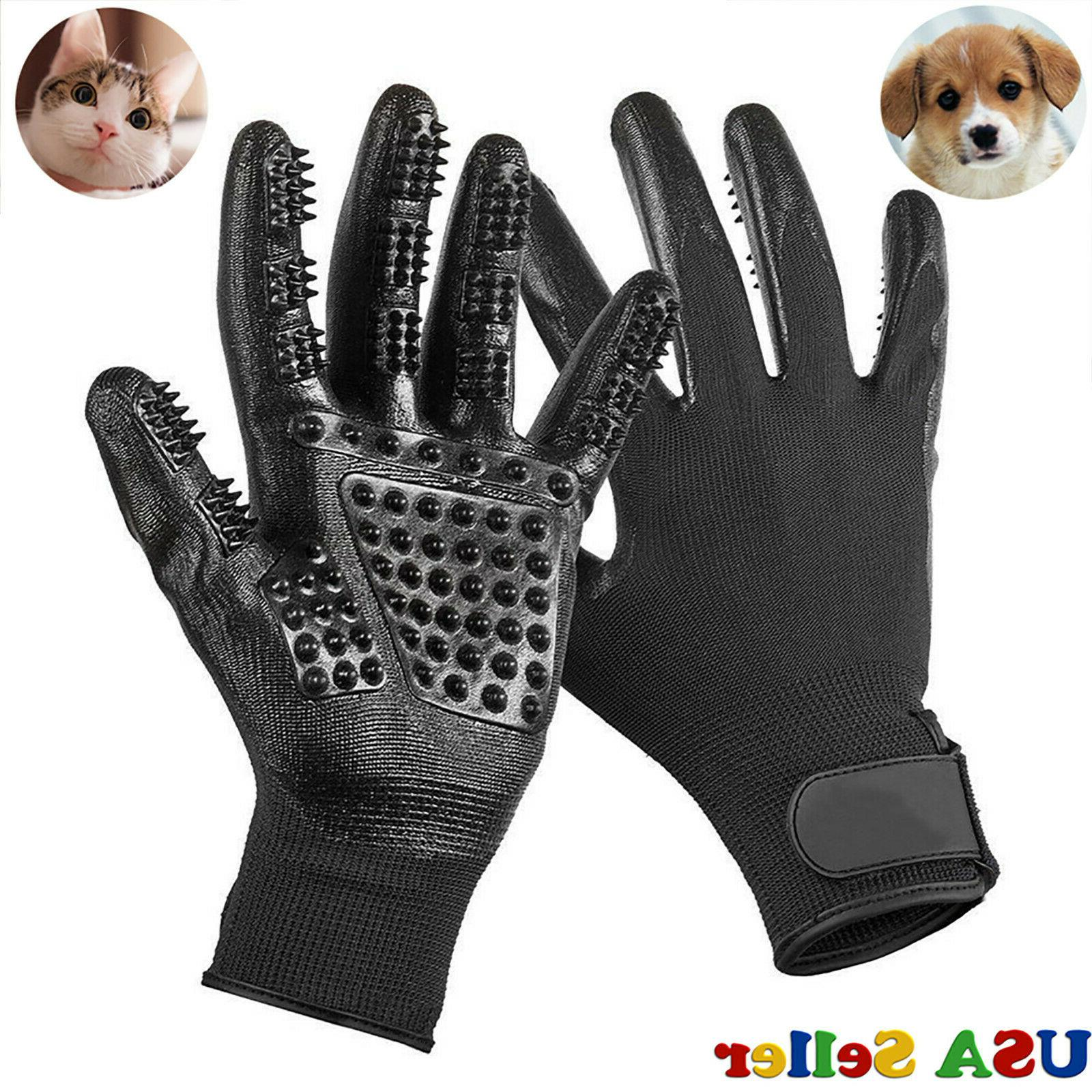 pet dog cat ninja grooming gloves hair