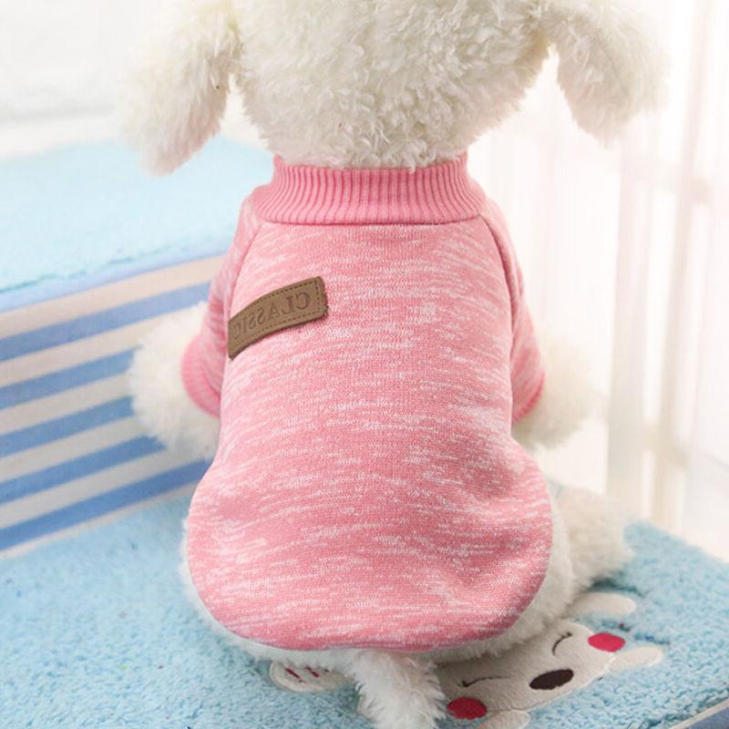 Pet Dog Warm Fleece Vest Clothes Puppy Apparel US