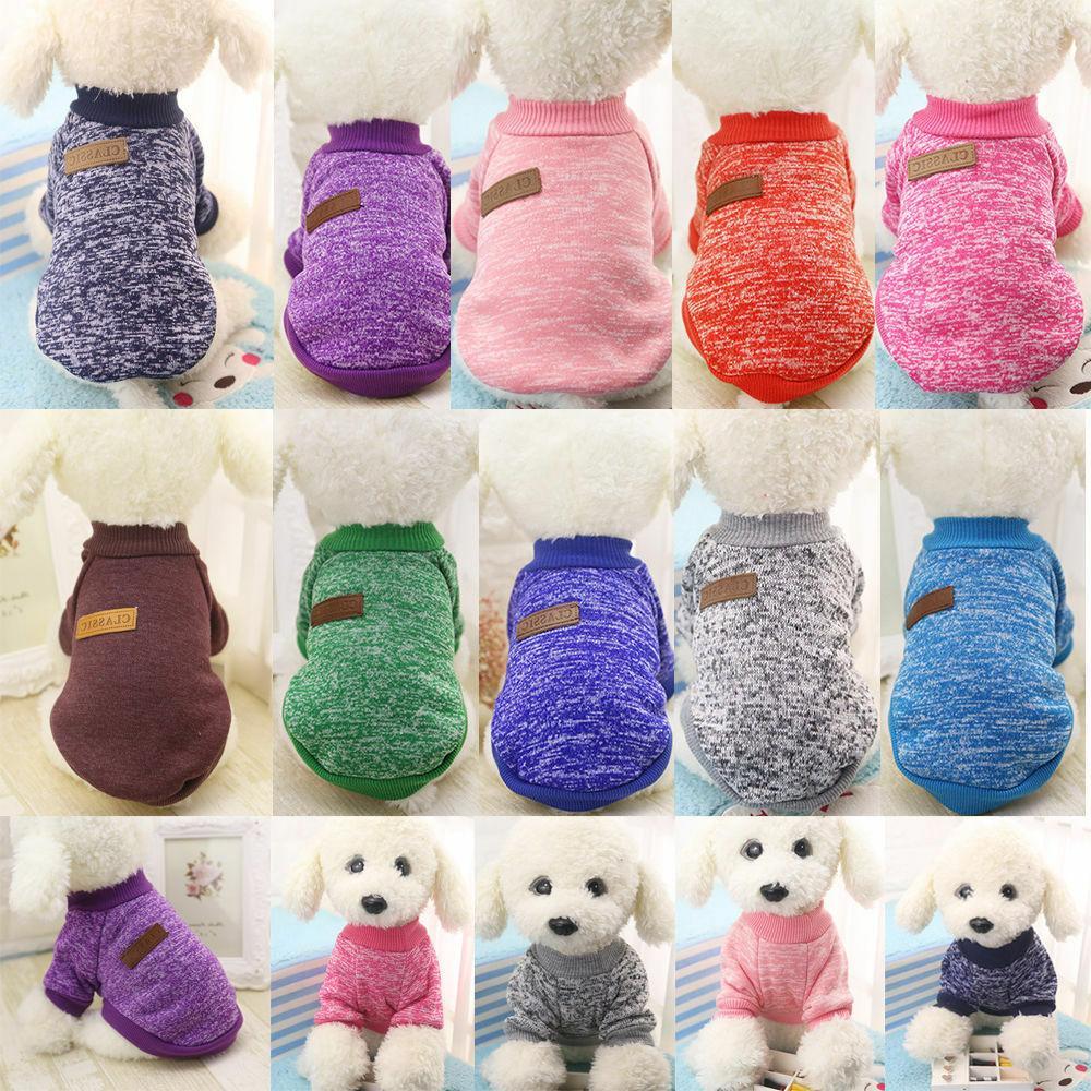 Pet Fleece Vest Puppy Shirt Sweater Winter