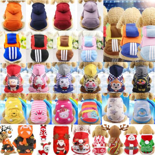 pet dog clothes puppy hoodie shirt clothing