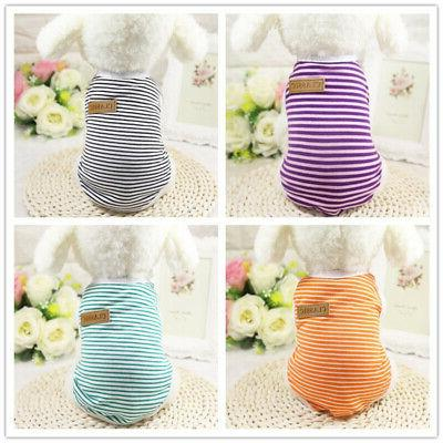 Pet Dog Clothes Summer Puppy Clothing For Small Dogs Vest Cute