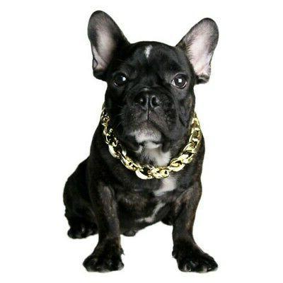 Fashion Cool Pet Dog Curb Cuban Necklace
