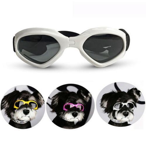 pet dog goggles foldable protection uv sunglasses
