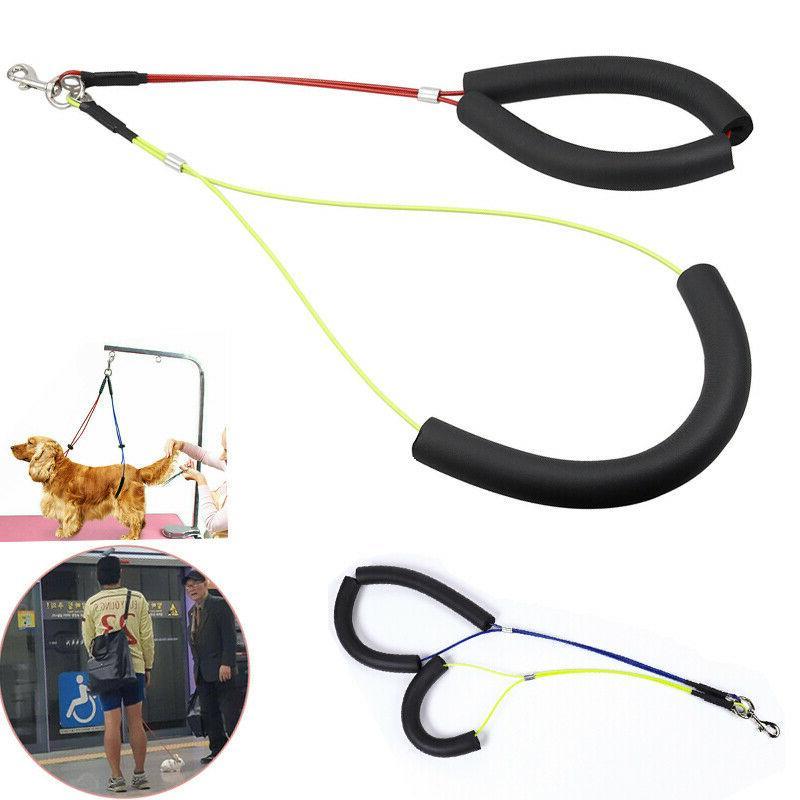 pet dog harness no sit per haunch