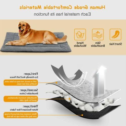 Dog Pet Dog Crate Reversible Pad S/M/L