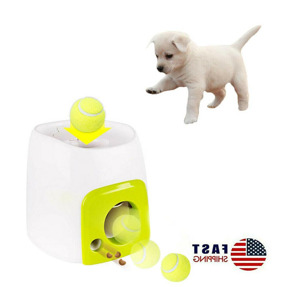 pet dog toy interactive training feeding thrower