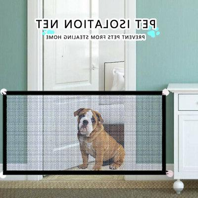 pet dogs gate portable foldable safety guard