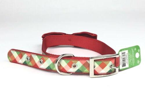 pet holiday collection adjustable dog collar large