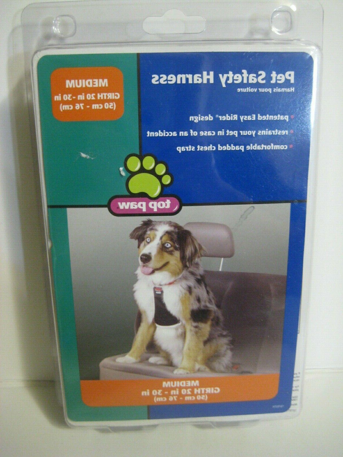 pet safety harness size medium easy rider