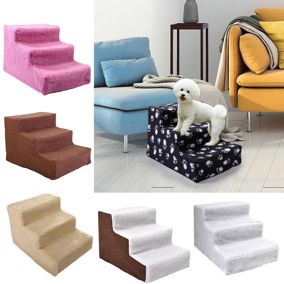 pet stairs 3 steps portable cat dog