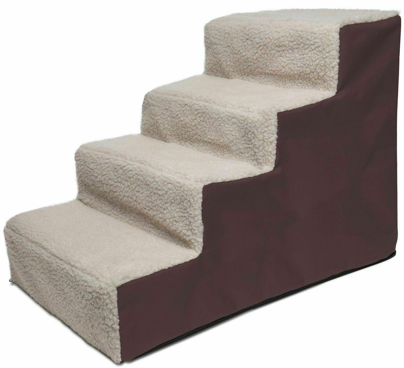 pet stairs 4 steps soft portable