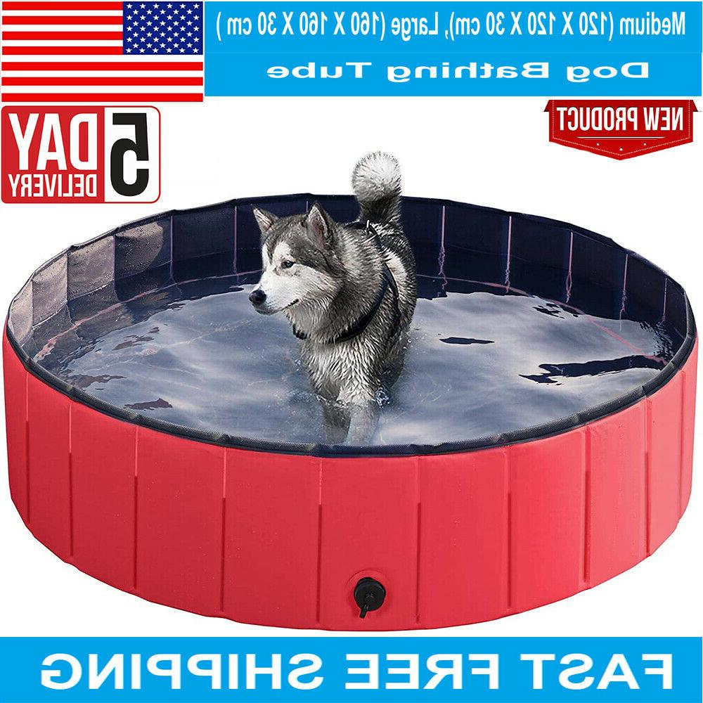 pet swimming pool pvc portable foldable cube