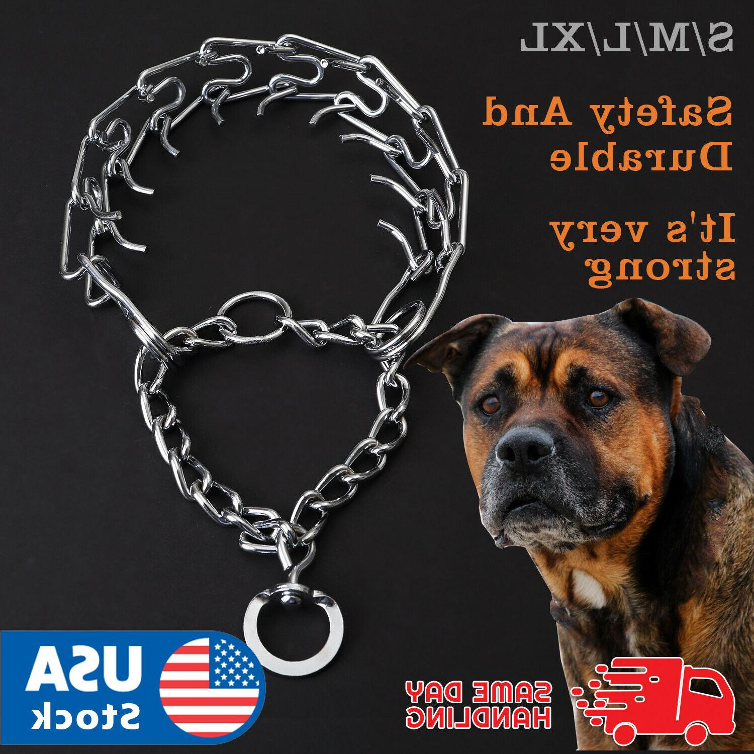 pets dog training guardian gear collar chain