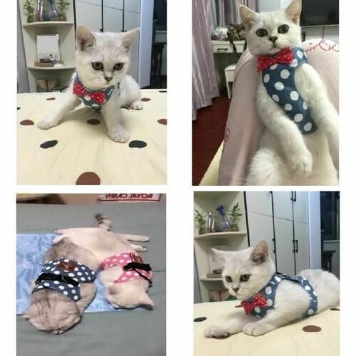 Pets Leash Cute Soft Vest