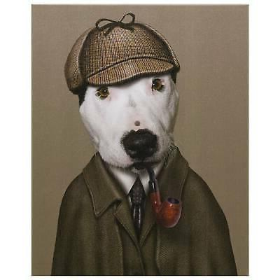 """Pets """"Detective"""" Graphic Art on Wall x"""