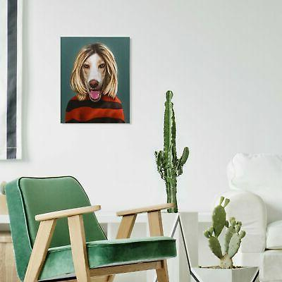 Pets Rock Art Wall Art Multi-Color x
