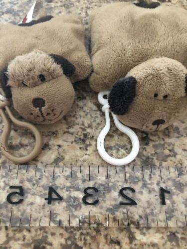 Pillow Puppy Pillow Pets Keychains Plush