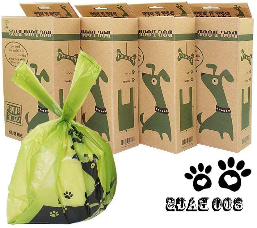 PET N PET Poop Bags Dog Waste Bags with Easy Tie Handles  Le