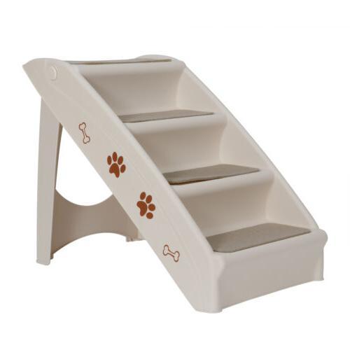 Foldable Non-slip Steps Ladder w/ High