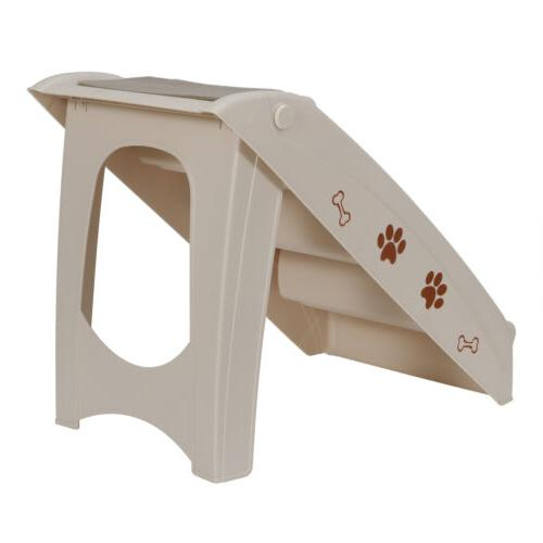 foldable pet stairs 4 non slip steps