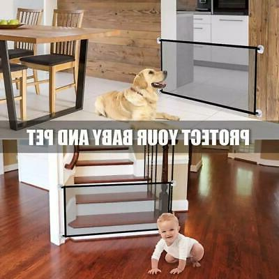 portable kids and pets safety door guard